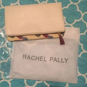 Handbags - Rachel pally creme and floral fold over clutch